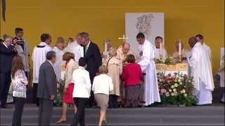 28 septembre : Vidéo de la messe d'action de grâces à Madrid