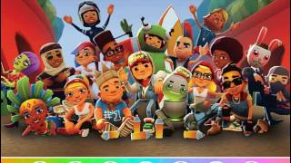 Мультик игра Subway Surfers: Найди объекты (Subway Surfers Find Objects)