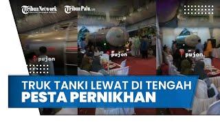 Cerita di Balik Video Truk Tangki Lewat di Tengah Pesta Pernikahan, Pemilik Acara Sudah Tahu