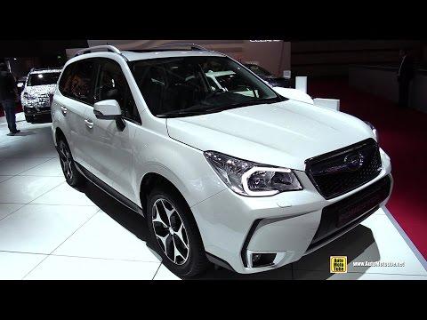 2015 Subaru Forester 2.0 XT - Exterior and Interior Walkaround - 2014 Paris Auto Show