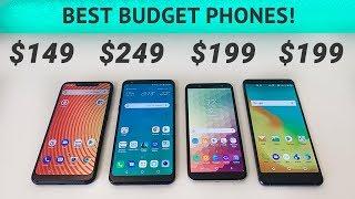 BLU Vivo XL4 vs LG Stylo 4 vs Samsung Galaxy A6 vs ZTE Blade Max View - Best Budget Smartphones!