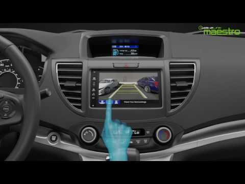How to control Honda multi-angle reverse camera from an aftermarket receiver