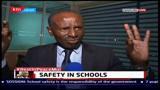 Safety in Schools Wilson Sossion's perspective | The Big Story