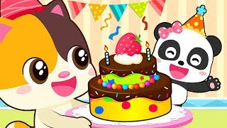 ❤ Miu Miu Birthday Party | Animation For Babies | Kids Cartoon | Nursery Rhymes | BabyBus
