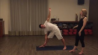 How to Instruct Yoga to a Blind, Low Vision, or Visually Impaired Person