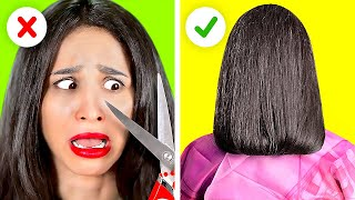 GET A NEW LOOK IN 5 MINUTES OR LESS || Girly Hacks And Tips You Need To Try