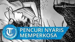 Seorang Pencuri Nyaris Memperkosa Mahasiswi saat Tidur di Bali