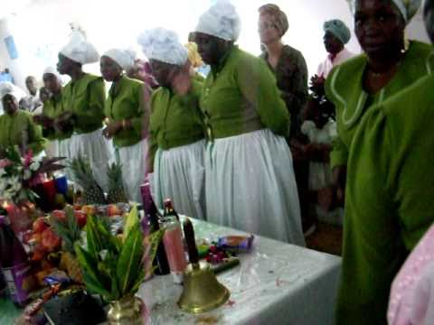 SPIRITUAL BAPTIST YOUTH THANKSGIVING BLACK ROCK, TOBAGO       SDC11540.AVI