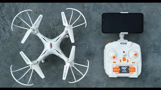 Best Camera Drone | Remote Control Wi-Fi fpv Camera Drone Flying Quadcopter with Headless Mode