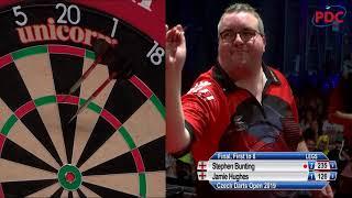 Stephen Bunting Vs. Jamie Hughes - European Tour Throwback - 2019 Czech Darts Open Final