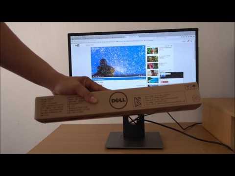 Test Monitor Dell P2317H 23 inch  and Dell USB SoundBar  AC511