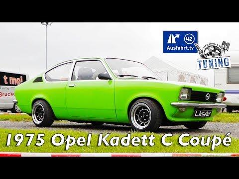1975 Opel Kadett C Coupé inkl. CarPorn und Sound-Check | Ausfahrt.tv Tuning