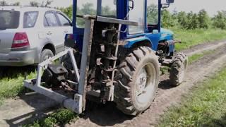 Почвофреза садовая для минитрактора 0,8м (Украина) от компании VIN-TIK - видео 2