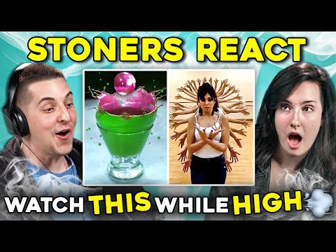 Stoners React To Watch While You're High Compilation (видео)