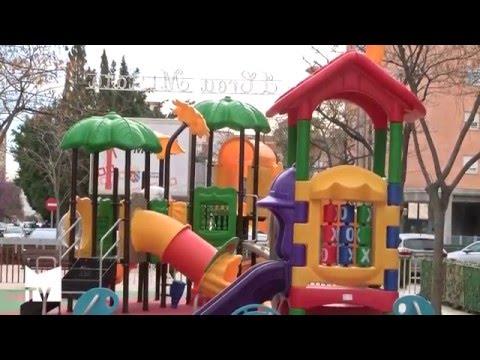 El Parque Infantil de la Plaza Mayor estará habilitado para niños y niñas con diversidad funcional