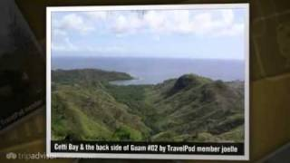 preview picture of video 'Southern Guam and Cetti Bay Overlook Joelle's photos around Agana, Guam (cetti falls guam)'