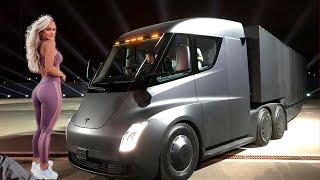 НОВЫЙ ГРУЗОВИК ТЕСЛА ОТ ИЛОНА МАСКА!!! Тюнинг крутых грузовиков...