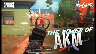 AKM RECOIL HACKS? THE POWER OF AKM 19 KILLS OP OP || PUBG MOBILE HIGHLIGHTS