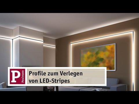 Indirektes LED-Licht: YourLED Strip und Duo- und Delta-Profile