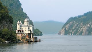 Passing through the Iron Gates of the Danube River
