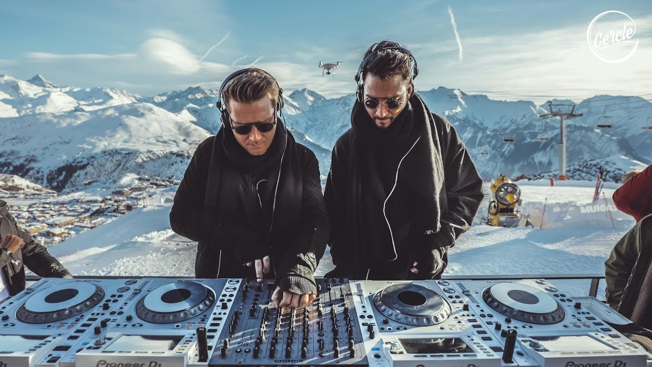 Adriatique at Signal 2108 Alpe d'Huez in the Alps, France for Cercle