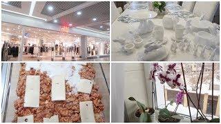 VLOG Покупки посуды, одежды/ Лазанья/ Мои бедные орхидеи