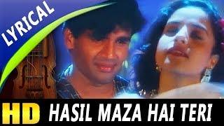 Hasil Maza Hai Teri Mulaqat Ka Mujhe With Lyrics   Abhijeet