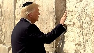 Trump Becomes First U.S. President to Visit Wailing Wall