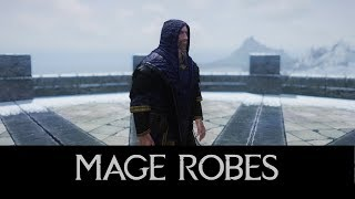 Skyrim SE Mod: Clean and Improved Mage Robes