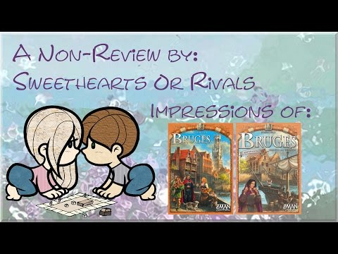 Sweethearts or Rivals Impressions: Bruges & City on the Zwin