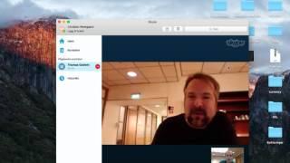 skype answer video