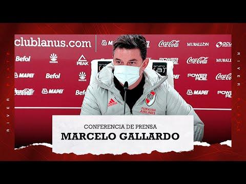 Marcelo Gallardo en conferencia de prensa [Lanús 0 - River 3]