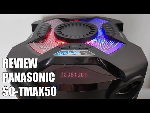 External Review Video CQbFxIde0oA for Panasonic TMAX Mini Audio Systems SC-TMAX50 & SC-TMAX40