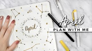 PLAN WITH ME | April 2017 Bullet Journal Setup