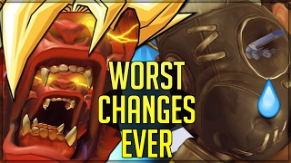 GORILLAS AND PIGS HAVE RIGHTS TOO - New PTR Changes - Fixing Broken Heroes in Overwatch!