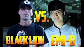 Видео Battle Black Lion vs. Emi-B (RAP.TJ)