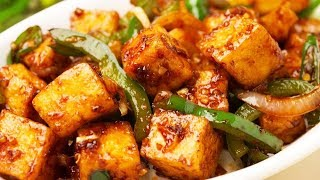 Chinese Style Chilli Panner Curry Recipe
