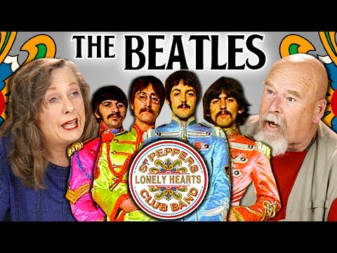 Elders react to The Beatles (Sgt. Pepper's Lonely Hearts Club Band 50th Anniversary)