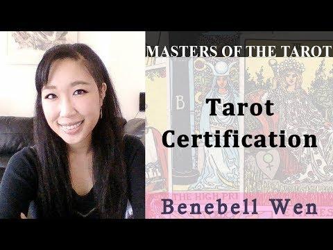 Benebell on Tarot Certification - YouTube