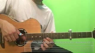 La Diabla - Romeo Santos Tutorial/Como tocar en Guitarra