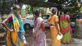 Covid 19 - Vizianagaram Vikasa Taranigni distributed satvik meals to the 1000 needy people