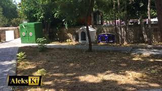 Домики для кошек и собак. Кирения. Парк перед Крепостью. Сентябрь 2017