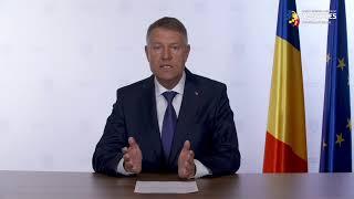 Iohannis: Dacă nu respectăm strict măsurile impuse de autorităţi, pierderile de vieţi vor fi din ce în ce mai multe