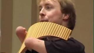 Panflöte Matthias Schlubeck - Menuet, Badinerie, BWV 1067 - J.S. Bach - Panflute