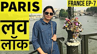 Paris Love Lock Bridge | Notre Dame Cathedral | Arc De Triomphe