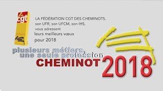 Les vœux de la Fédération CGT des Cheminots pour 2018