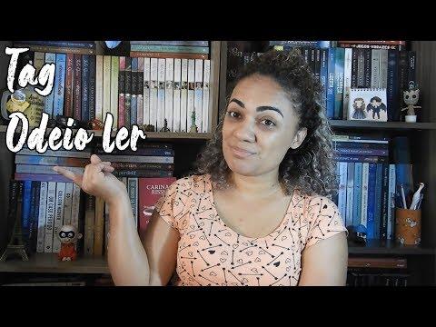 Tag Odeio Ler - Dia do Livro