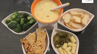 Cheese Fondue | Restaurant Style | Easy Tempting Recipe | Simply Jain