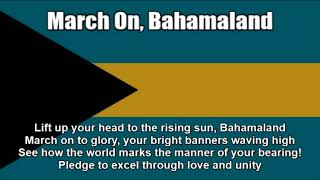 National Anthem of the Bahamas (March On, Bahamaland) - Nightcore Style With Lyrics