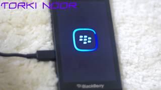 تحديث BlackBerry Z10 وحل مشكلة الشاشة السوداء مع الفلاش الاحمر